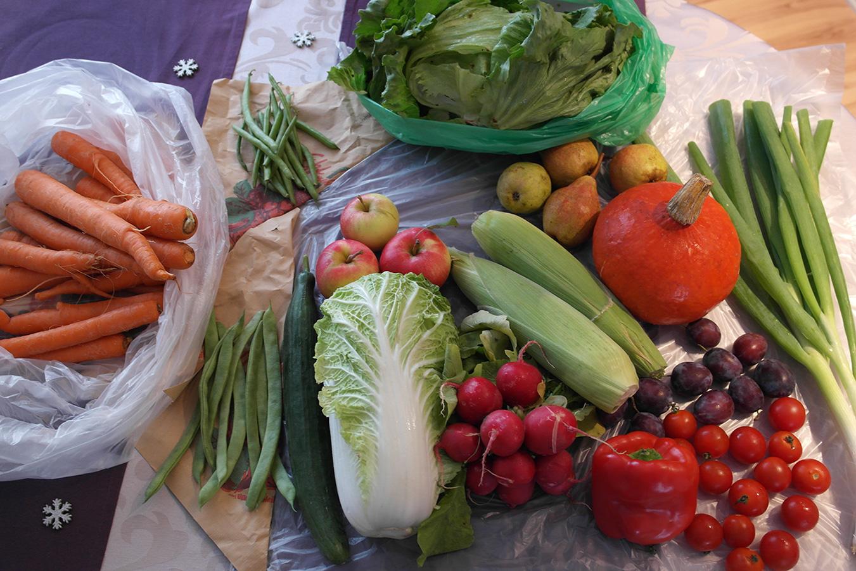 Bestellung bei der Gemüsekiste